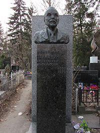 Могила Александра Палладина.JPG