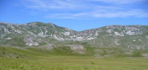 Mavrovo National Park - Image: Небо земја