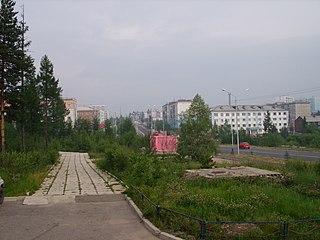 Neryungri Town under republic jurisdiction in Sakha Republic, Russia
