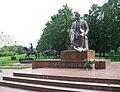 Памятник Шолохову на Волжском бульваре в Москве-1.jpg