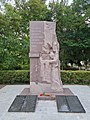 Памятный знак в честь воинов-односельчан, Нижнегорск, Ленина.jpg