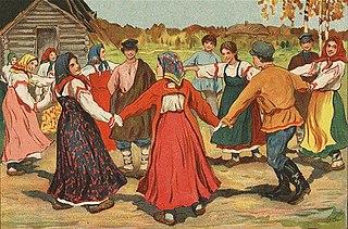 Russian folk dance Ethnic dance of the Russian people