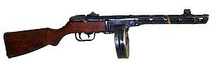 Пистолет-пулемет системы Шпагина обр. 1941