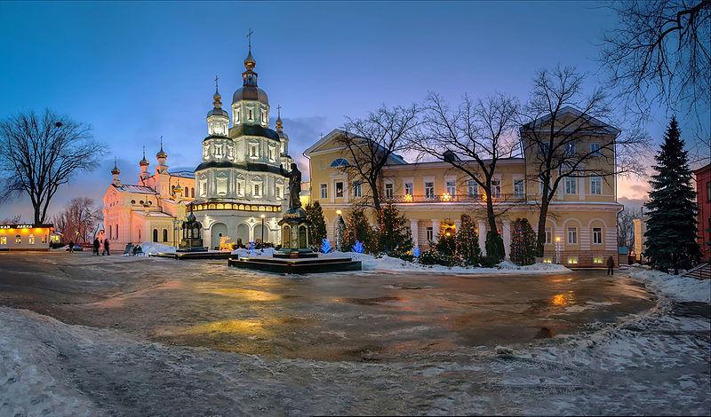 Комплекс споруд Свято-Покровського монастиря, Харків. Автор фото — Serg120967, ліцензія CC-BY-SA-4.0