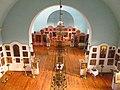 Покровська (старообрядницька) церква інтер'єри з хорів, Кілія.JPG