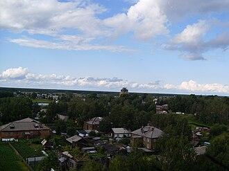 Solvychegodsk - Northeastern view of Solvychegodsk