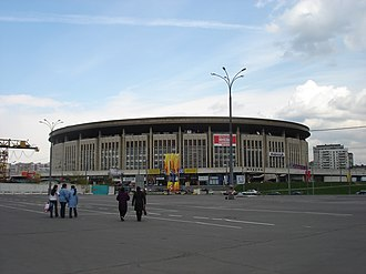 2004–05 Euroleague - The Olimpiisky Arena in Moscow hosted the Final Four