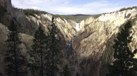 File:♥♥ Relaxing Sunrise, Waterfall, and Birds at Grand Canyon of the Yellowstone (2 hours).webm