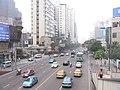 老汽车南站立交桥上拍人民东路 - panoramio.jpg