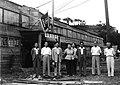 중앙대학교 1951년, 부산송도교사 앞에서 임영신 박사, 교직원.jpg