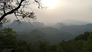 Pachmarhi-Kette mit Dhupgarh