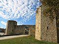 007 Monestir de Sant Cugat del Vallès, porta de la muralla est.JPG