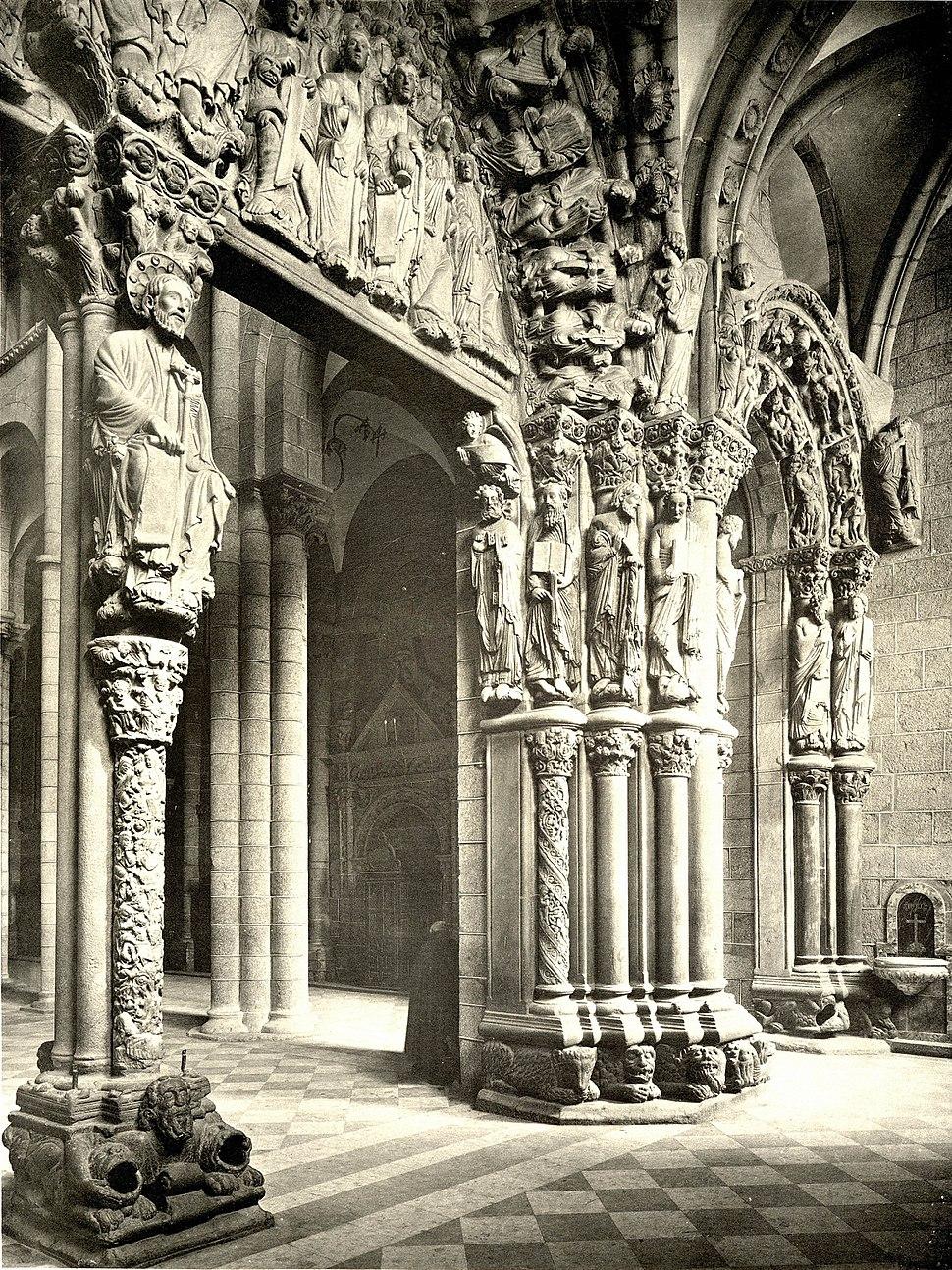 036 Santiago (da Compostela) Portico de la G loria in der Kathedrale