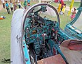 046 Bangladesh Air Force Mig-21 UM cockpit. (23389836272).jpg