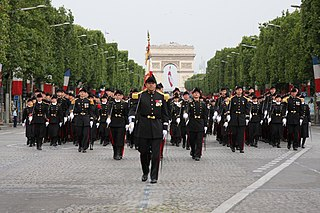 French military parade held on the morning of 14 July each year in Paris since 1880