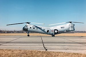 1st Helicopter Squadron - CH-21B Workhorse