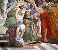 0 Chambre de Raphaël - École d'Athènes - Musées du Vatican.JPG