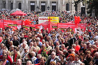 International Workers' Day - Vienna, Austria, 2013