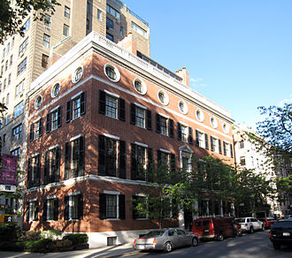 Dorothy Payne Whitney - Dorothy's New York residence at 1130 Fifth Avenue
