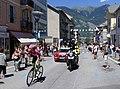 12ème étape Tour de France 2018 (Pierre Rolland en tête à St-Jean-de-Maurienne).jpg