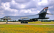 127th Bomb Squadron Rockwell B-1B Lancer Lot IV 85-0064