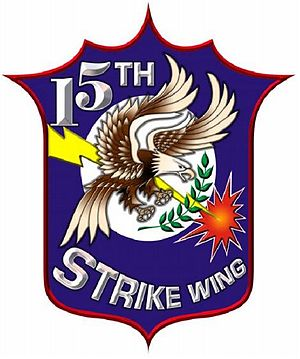 15th Strike Wing, Philippine Air Force - 15th Strike Wing Emblem