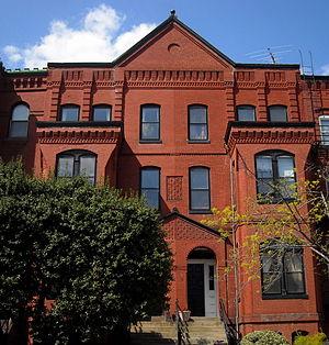 Barclay Henley - Barclay Henley's former residence in Washington, D.C.