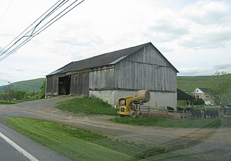 Hopewell Township, Bedford County, Pennsylvania - A farm in Hopewell Township