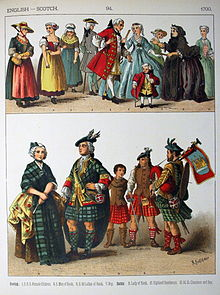 Scottish traditional dress name with images