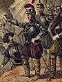1853, Los mártires de la libertad española, vol I, Acuña en el sitio de Valdepero (cropped) 2.jpg