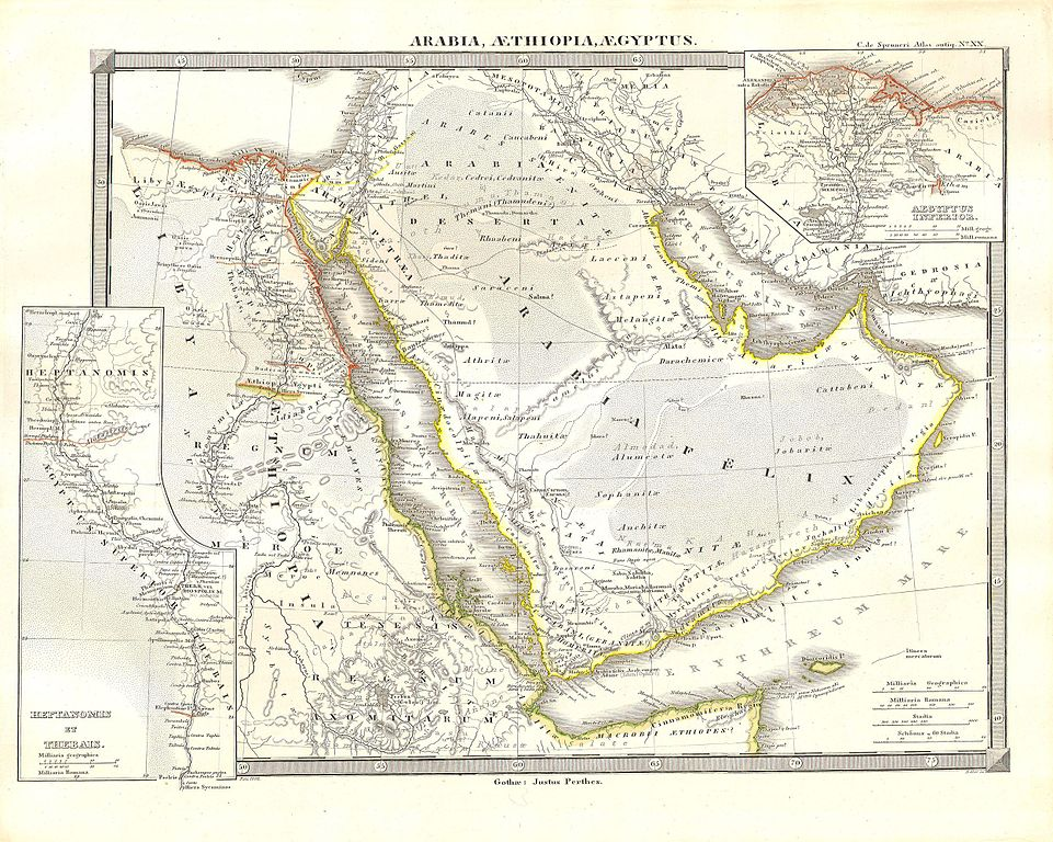 File 1855 Spruneri Map Of Arabia Egypt And Ethiopia Or