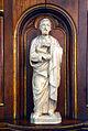 1860 Evangelisten-Skulptur von Georg Hurtzig, Kanzel der Klosterkirche Marienwerder, Hannover, 02.jpg