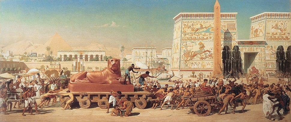 1867 Edward Poynter - Israel in Egypt