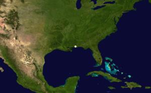1870 Atlantic hurricane season - Image: 1870 Atlantic hurricane 1 track