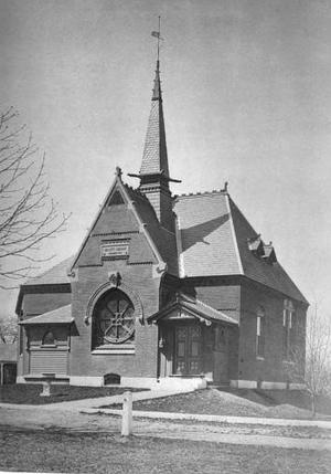 Billerica Public Library - Image: 1883 Bennett Library Billerica Massachusetts