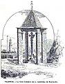 1889. La cruz cubierta de la carretera de Barcelona - Gras.jpg