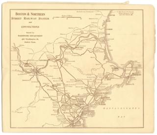 Boston and Northern Street Railway Former transportation company in Greater Boston, Massachusetts