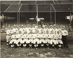 Providence Grays (minor league) - 1914 Providence Grays with Babe Ruth