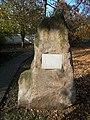 1945-1975 memorial stone. - Budajenő, Hungary.JPG