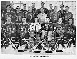 Philadelphia Rockets - The 1946–47 AHL Philadelphia Rockets