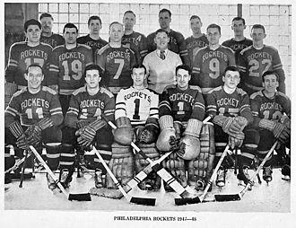 Philadelphia Phantoms - The 1946-47 AHL Philadelphia Rockets.