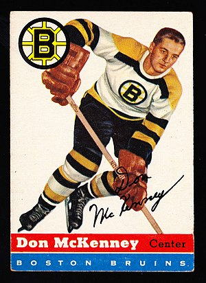 Don McKenney - Image: 1954 Topps Don Mc Kenney