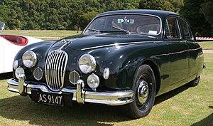 Jaguar Mark 1 - Jaguar 2.4 Litre special equipment early 1957
