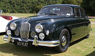 Jaguar Mark 1 - Jaguar 2.4 Litre special equipment early 1957
