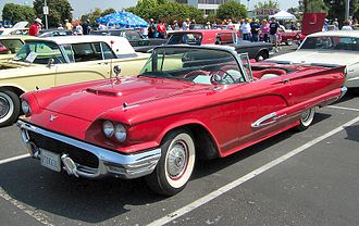 Ford Thunderbird - 1959 Ford Thunderbird convertible