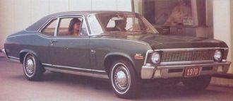 John DeLorean - The 1970 Chevrolet Nova was released behind schedule under DeLorean's leadership of GM's Chevrolet division.