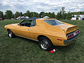 1971 AMC Javelin AMX 401 in Mustard Yellow at 2015 AMO show 2of7.jpg