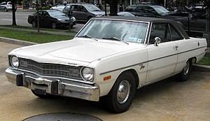 1974 Dodge Dart Swinger photographed in Washin...