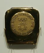 1984 Winter Olympics gold medal.JPG