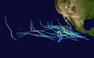1985 Pacific hurricane season hurricane season in the Pacific Ocean